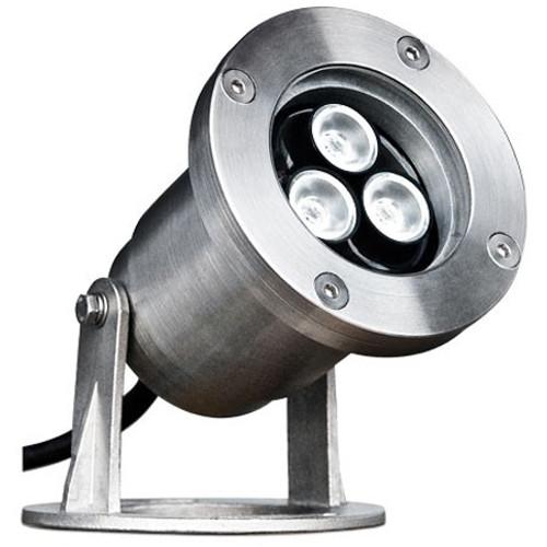 12V 3w Integrated LED Marine Grade 316 Stainless Steel Underwater Spotlight - LV-LED350 - DABMAR