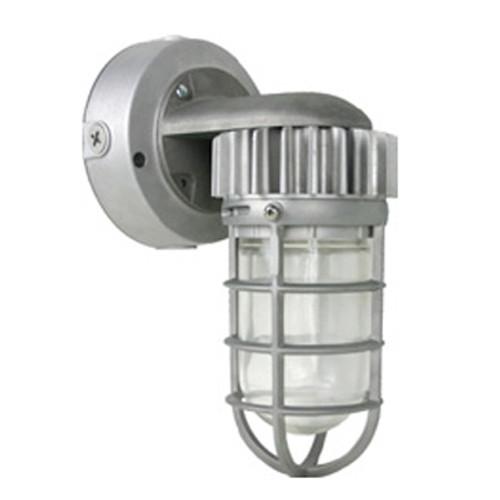 120V 17w LED Cool White Vapor Proof Aluminum Industrial Wall Lantern