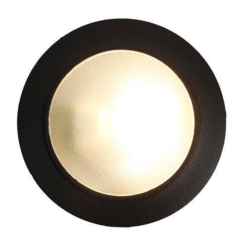 "LED 3.5"" Cast Brass Open Face Wall Marker Light LEDS70"