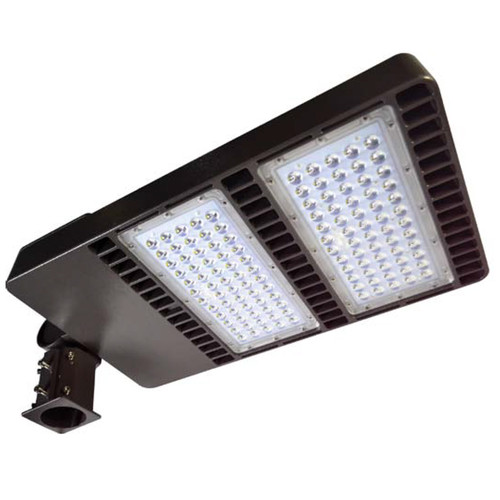120V 300w Dual Panel Post Top Area Flood Light - Dabmar DF-LED7770