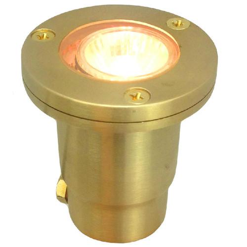 12V Cast Brass In Ground Mini Well Light PGDX707