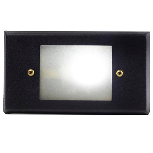 Brass Open Face Recessed Flush Mount Stair Light - PRGB-HS-DV