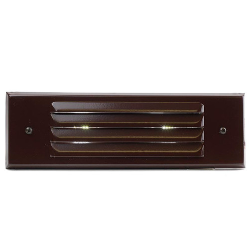 Brass Louver Deck Light - PRLB-HL-DV