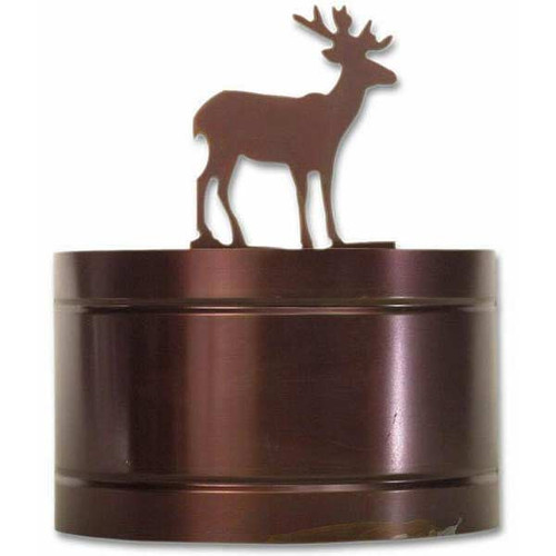 Wildlife Small Curved Wall Sconce XPW-0171