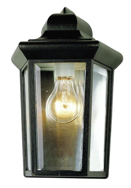 1 Light Outdoor Pocket Sconce 4483BK Black