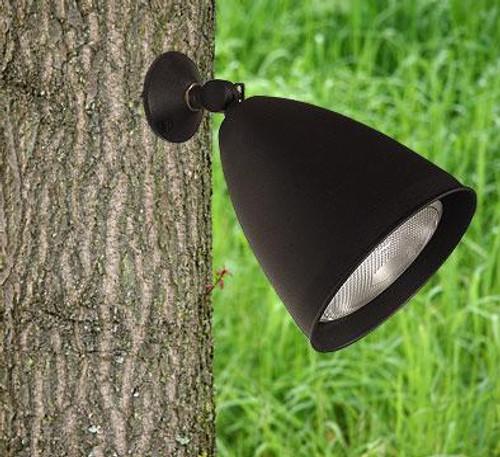 120V Solid Brass Tree Mounted Flood Light