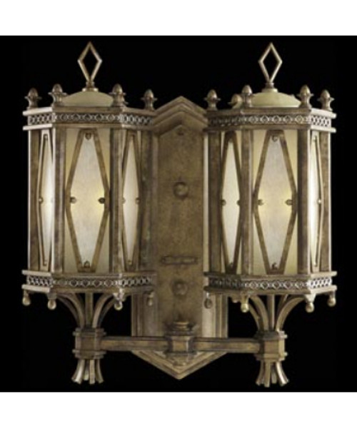 Beverly Hills 2 Light Outdoor Wall Sconce 580581ST