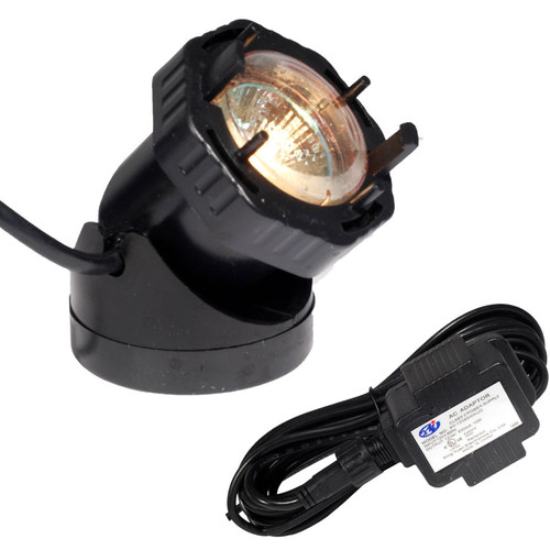 12V Underwater Black Single Composite Spotlight Fountain Kit MARYKIT