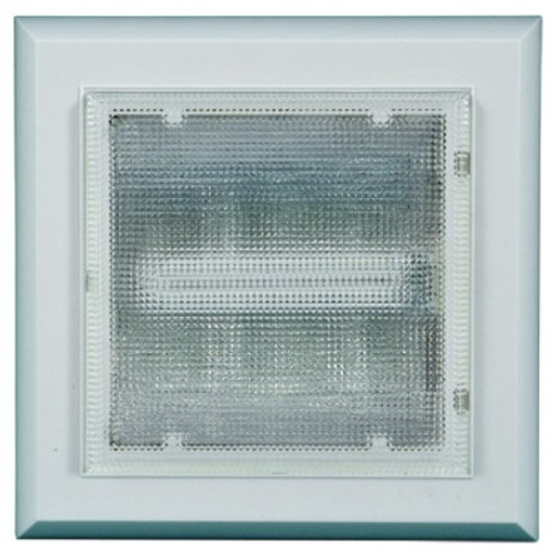 120V Fluorescent Square Surface Mounted Ceiling Light - DC8600 - DABMAR