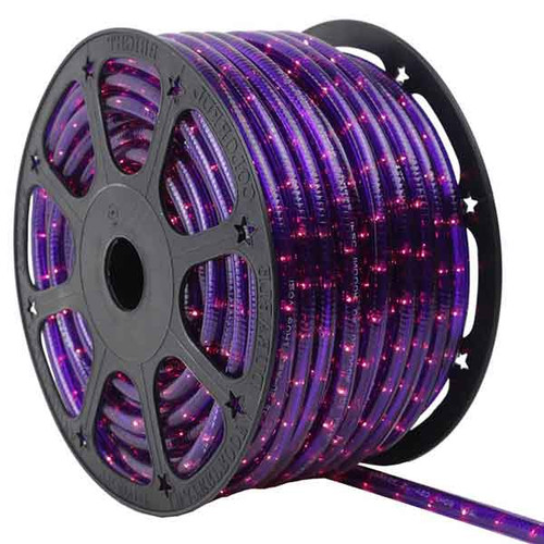 150 Ft Purple 3 Wire Incandescent Chasing Rope Light Kit - 120v