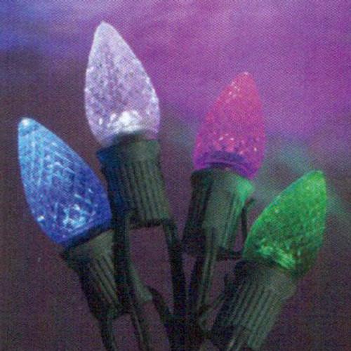 C9 Light Stringer (shown with faceted LED Light Bulb)