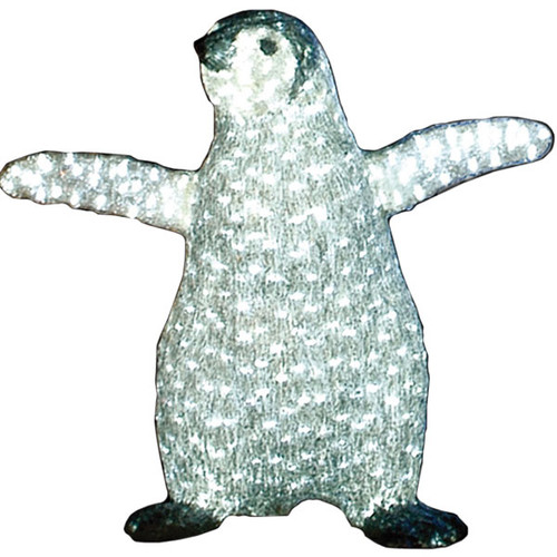 "LED Lighted Christmas Animal - 26"" Lighted LED Penguin - Commercial Grade"