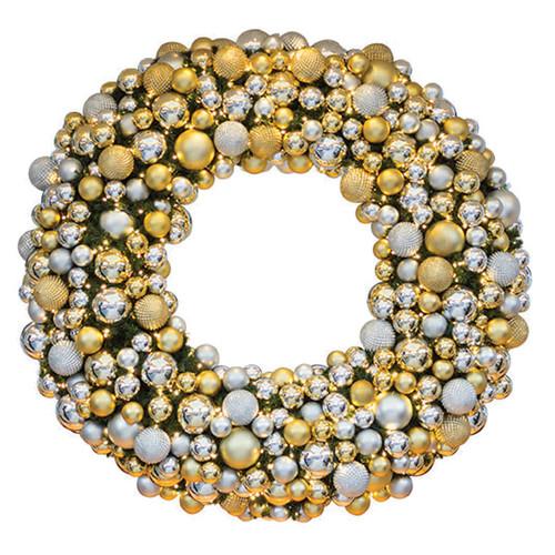 4' Elite Holiday Designer Wreath