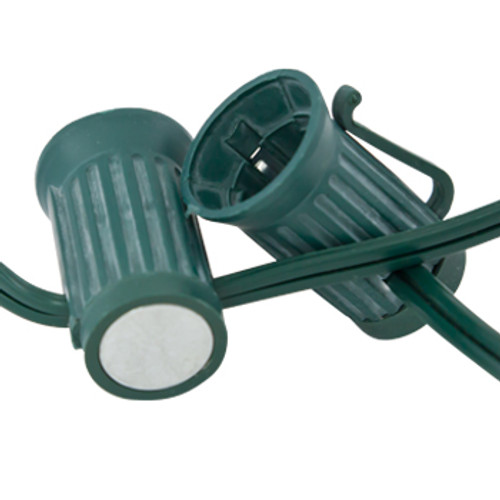 "Magnetic Green C9 Bulk Reel -12"" Spacing- 250'"