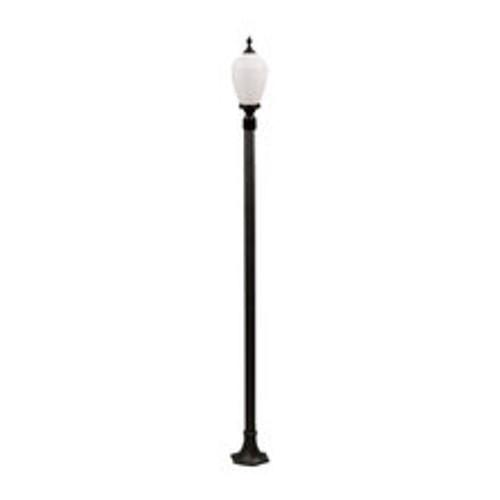 120V 60w Alisa Lamp Post Light GM4001 Black