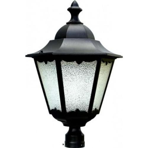 120V 60w Lantern Post Top Mount Light - GM812 - DABMAR