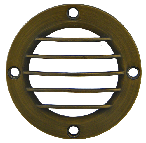 "3.5"" Bronze Curved Grill Cover for PGC3 Series"