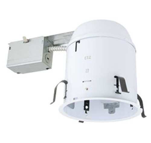 "120v 6"" Non-IC Airtight Remodel Recessed Lighting Can Housing - CH7RT"