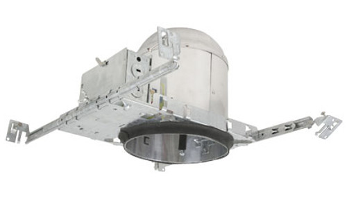 "120v 6"" 90w IC-Rated New Construction Recessed Can Housing - CH7ICAT90"