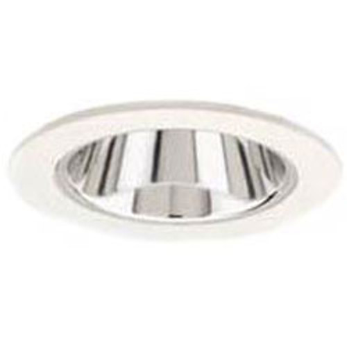 "White 12V 3"" Adjustable Smooth Reflector Trim - C3723"