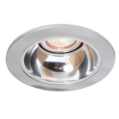 """White 12V 4"""" 35° Adjustable Reflector Trim - C1421"""