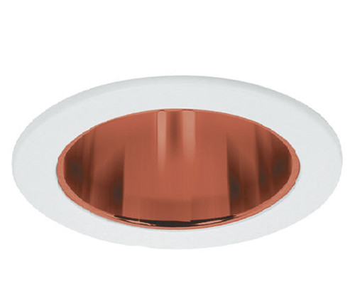 "White 120V 4"" Reflector Airtight Trim C910AT"