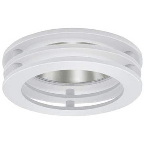 "White 12V 3"" Adjustable 3 Tier Circle Reflector Trim - C3716"