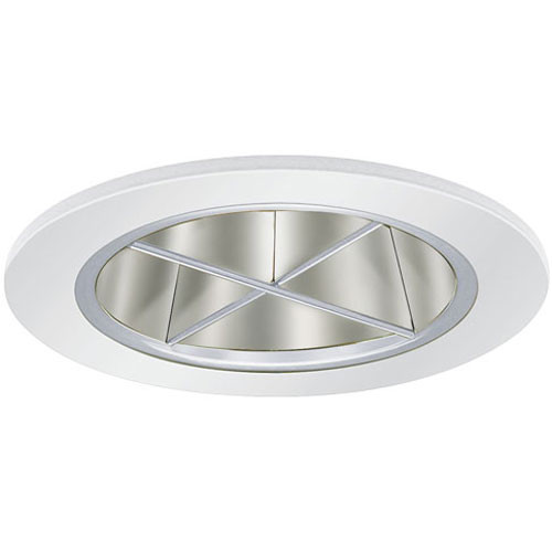 "White 12V 3"" Crossblade Reflector Trim - C3677"
