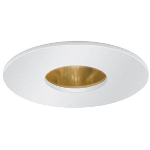 """White 12V 3"""" Pinhole Trim w/ Reflector - C3715"""