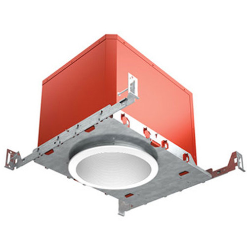 "120V 6"" Fire & Sound Rated LED IC New Construction Recessed Housing - FAHRENHEIT"