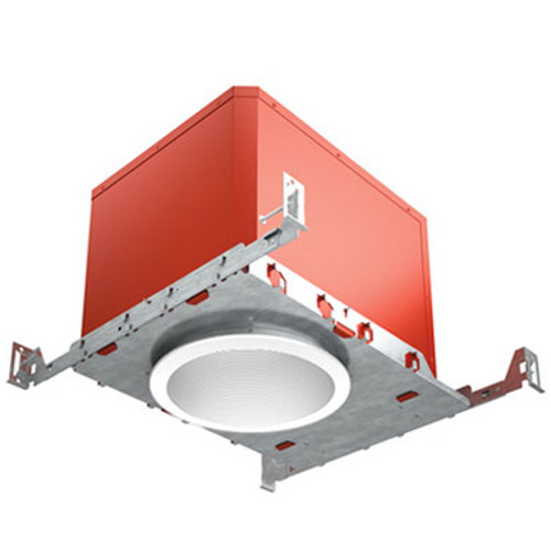 "120V 5"" FIRE & SOUND Rated LED IC New Construction Recessed Housing - FAHRENHEIT"