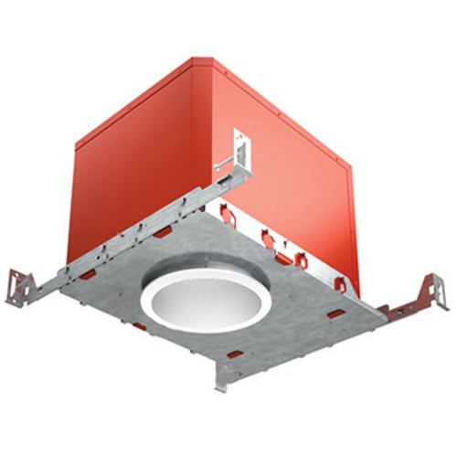 "120V 4"" FIRE & SOUND Rated LED IC New Construction Recessed Housing - FAHRENHEIT"