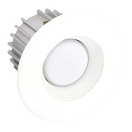 "White 3"" Trim Ring w/ Reflector - X34 Series"