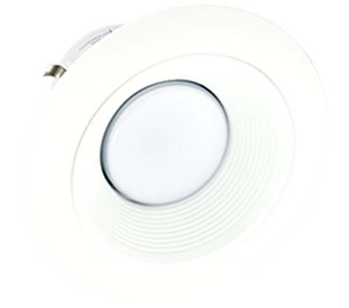 "White 5"" Trim Ring w/ Reflector - X56 Series"