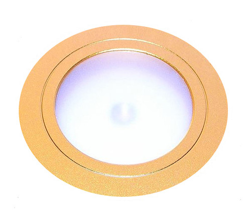 LED Mini Puck Light LEDSS Gold
