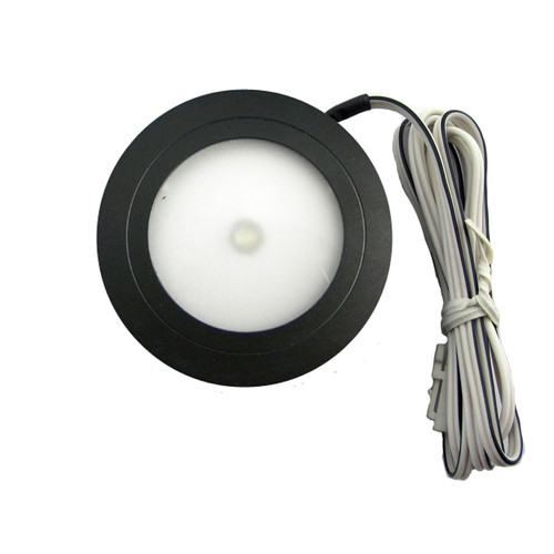 LED Mini Puck Light Kit Black