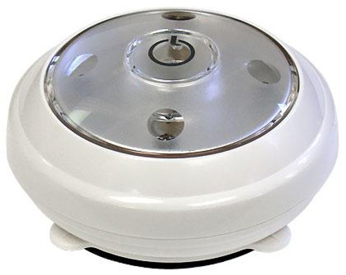 LED Under Cabinet Wireless Battery Operated Puck Light - In White - CLPL620