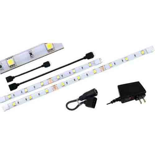 8 dimmable under cabinet led tape light sysem aqlighting custom led tape light kit for under cabinet lighting aloadofball Image collections