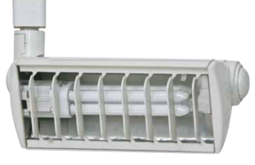 120V CFL Double Biax Track Light CTPL1X26