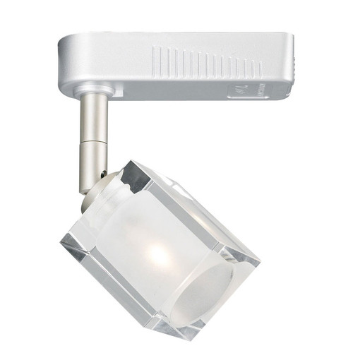 White 12V 1 Light Glacier Collection Aluminum Track Head Light - TR68 - PLC