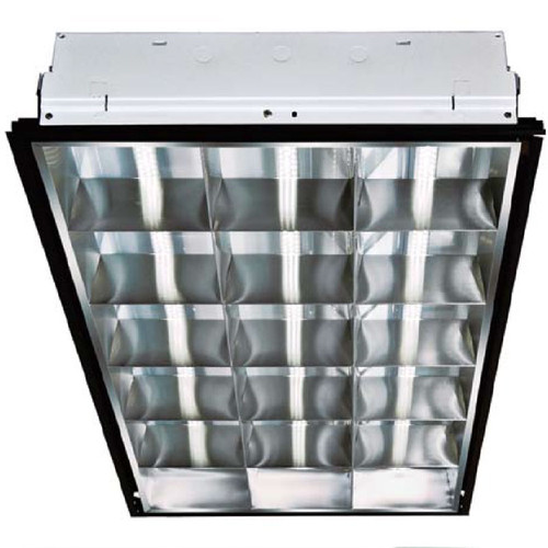 120V 2' X 4' 3-Lamp LED Lay In Ceiling Light Fixture -DC-LED4050 - DABMAR