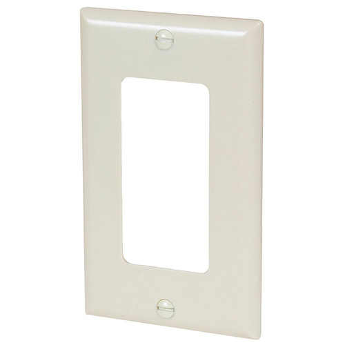 Cooper Single Gang Wall Plate Ivory