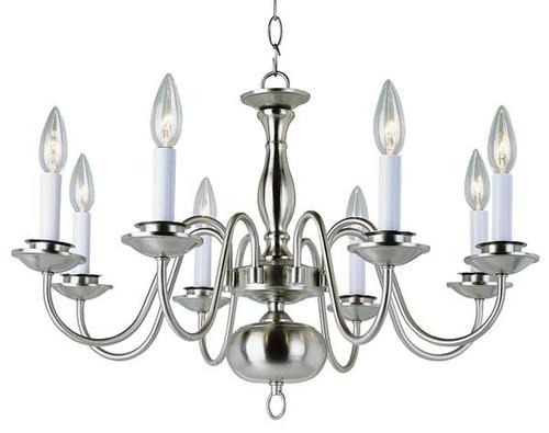 8 Light Williamsburg Chandelier - 10081