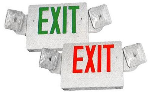LED Combo Exit & Emergency Light