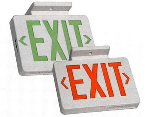 120V-277V Thermo-Plastic LED Exit Sign w/o Battery Backup - CELE5