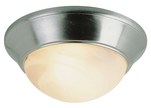 2 Light Brushed Nickel Ceiling Fixture 57700BN