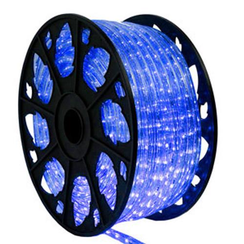 150 Ft Blue LED Rope Light Kit - 120V Standard IP65 Waterproof