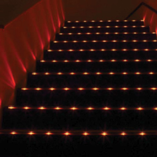 12V Beam Splitter LED Low Profile Extrusion Step Light - STADIA LITE 5000