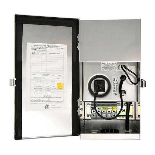 150w Multi-Tap Low Voltage Stainless Steel Transformer PTX15150