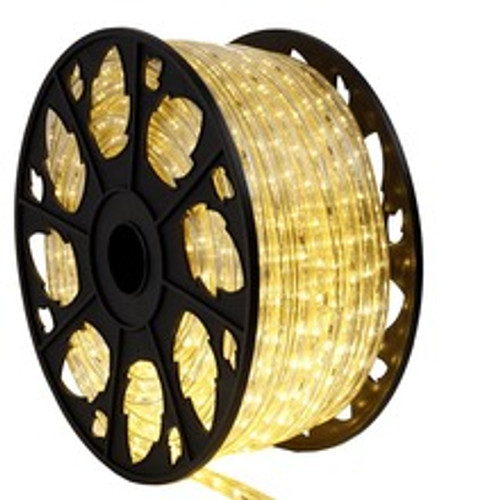 151 Ft Outdoor Warm White LED Rope Light Spool